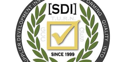 SDI: MONTHLY SUPPLIER IMPROVEMENT WORKSHOP (3 DAYS)