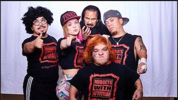 Midget Wrestling Entertainment: MIDGETS WITH ATTITUDE