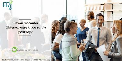 """Atelier \""""Savoir réseauter : Kit de survie pour 5@7\"""""""