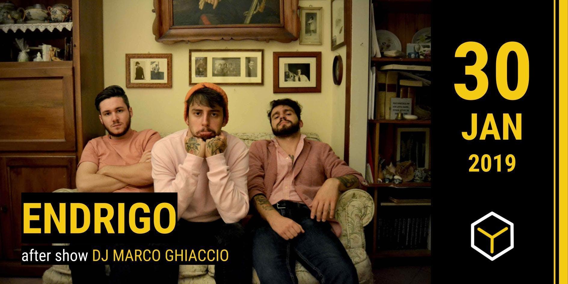 Endrigo - The Yellow Bar