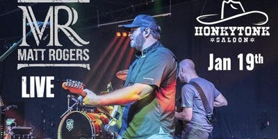 Matt Rogers Live at HonkyTonk Saloon