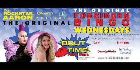 Forbidden Bingo Wednesdays Sheridan tickets