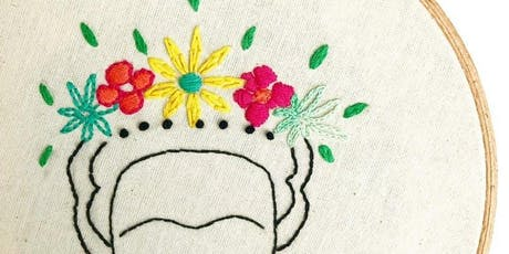 Stitch Up - Beginners embroidery tickets