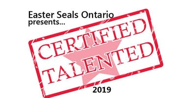 Certified Talented by Easter Seals