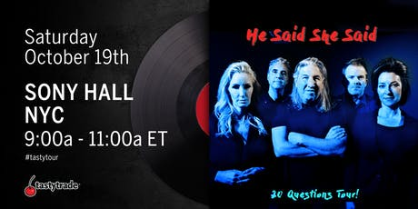 "tastytrade's ""He Said, She Said"" Tour NYC tickets"