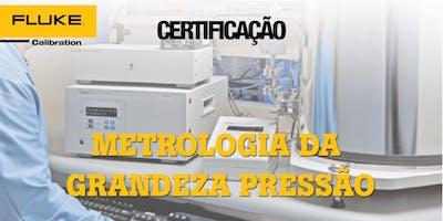 Certificação  de Metrologia Da Grandeza Pressão