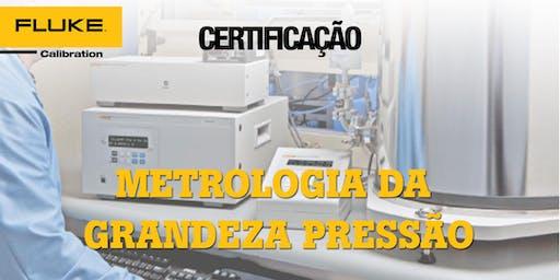 Certificação  de Metrologia Da Grandeza Pressão e Cálculo de Incerteza
