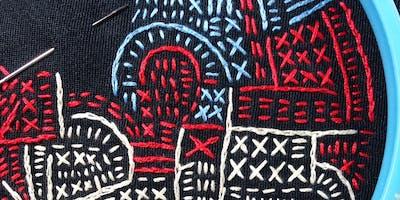 Improvisational Hand Embroidery
