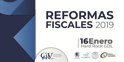 REFORMAS FISCALES CRV 2019