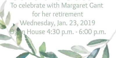 Save the Date: Margaret Gant Retirement Open House