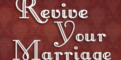 Reviving my marriage