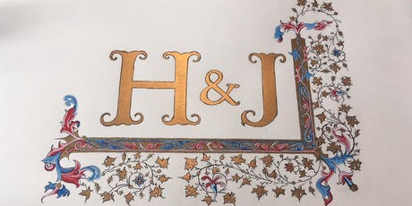2 day Learn Illuminated Lettering workshop at Swallows & Artisans tickets
