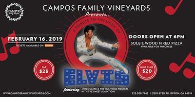 Elvis Presley Tribute Night!
