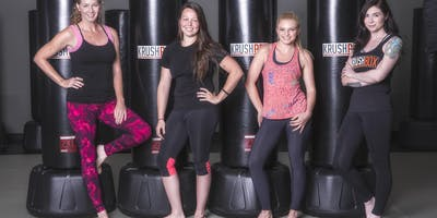 FREE Krushbox Fitness Kickboxing Class for Adults