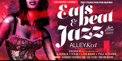 I LOVE MIDTOWN FRIDAYS/ R&B vs HIP HOP vs JAZZ  | 2 Levels - 3 Rooms + 3 DJ & LIVE MUSIC + FULL KITCHEN - TEXT 713.807.7000 FOR SEATING