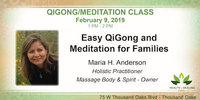 QiGong Meditation Class at the Health & Healing Expo