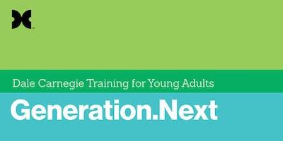 Leadership Begins in High School: Generation Next Complimentary Workshop