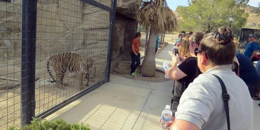 Summer 2019 Twilight Tour at EFBC's Feline Conservation Center