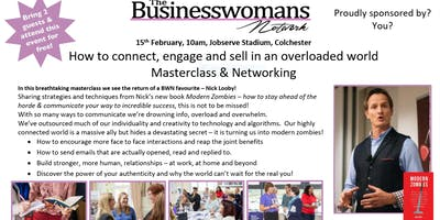 How Connect Engage Sell Overloaded World Masterclass Networking