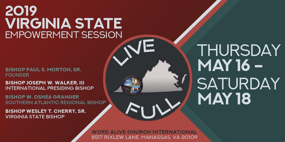 Virginia State Usa Map, Live Full Virginia State Empowerment Conference 2019, Virginia State Usa Map