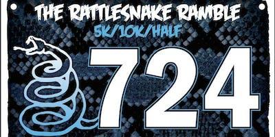 The Rattlesnake Ramble 5K/10K/Half (and post race BREWFEST)!