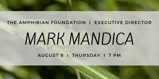 Mark Mandica at the ECO Center
