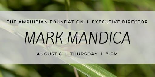 Mark Mandica at the ECO Center