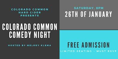 Colorado Common Comedy Night