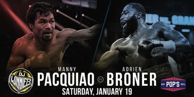 Fight Night at Pop's - Pacquiao vs. Broner