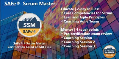 SAFe® 4.6 Scrum Master Training with Certification