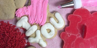 DJ's Cookie Decorating Class – Valentine's Day Cookies