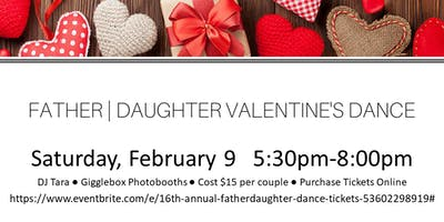 16th Annual Father/Daughter Dance