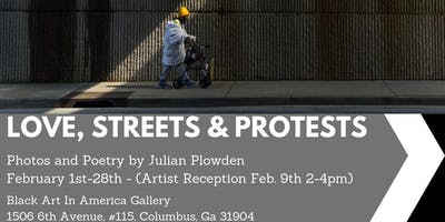 """Black Art In America presents """"Love, Streets and Protests"""""""