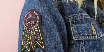 Family Weekend: Embroidered Patches Workshop (The Westchester)