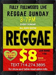 Fully Fullwood's Live Reggae Sunday logo
