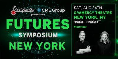 "CME Group & tastytrade present ""Futures Symposium"" NYC"