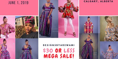 DESIGNSBYAREWAMI $30 OR LESS MEGA SHOPPING PARTY