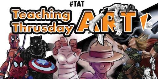 Teaching Art Thursday 8