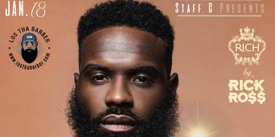 Beard Social Happy Hour Event Sponsored by Rich by Rick Ross Beard Care®