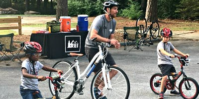 """""""How to Ride a Bike For Kids"""" on the Beltline (Morning)"""