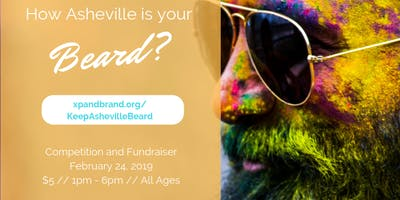 Keep Asheville Beard- Competition and Fundraiser