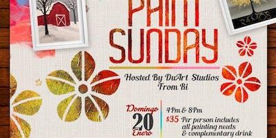 Paint Sunday - Domigo de Pintura