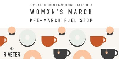 Womxn's March: Pre-March Fuel Stop