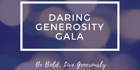Daring Generosity Gala 2019 tickets