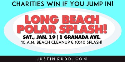 2019 Long Beach Polar Splash! & 30-Minute Beach Cleanup