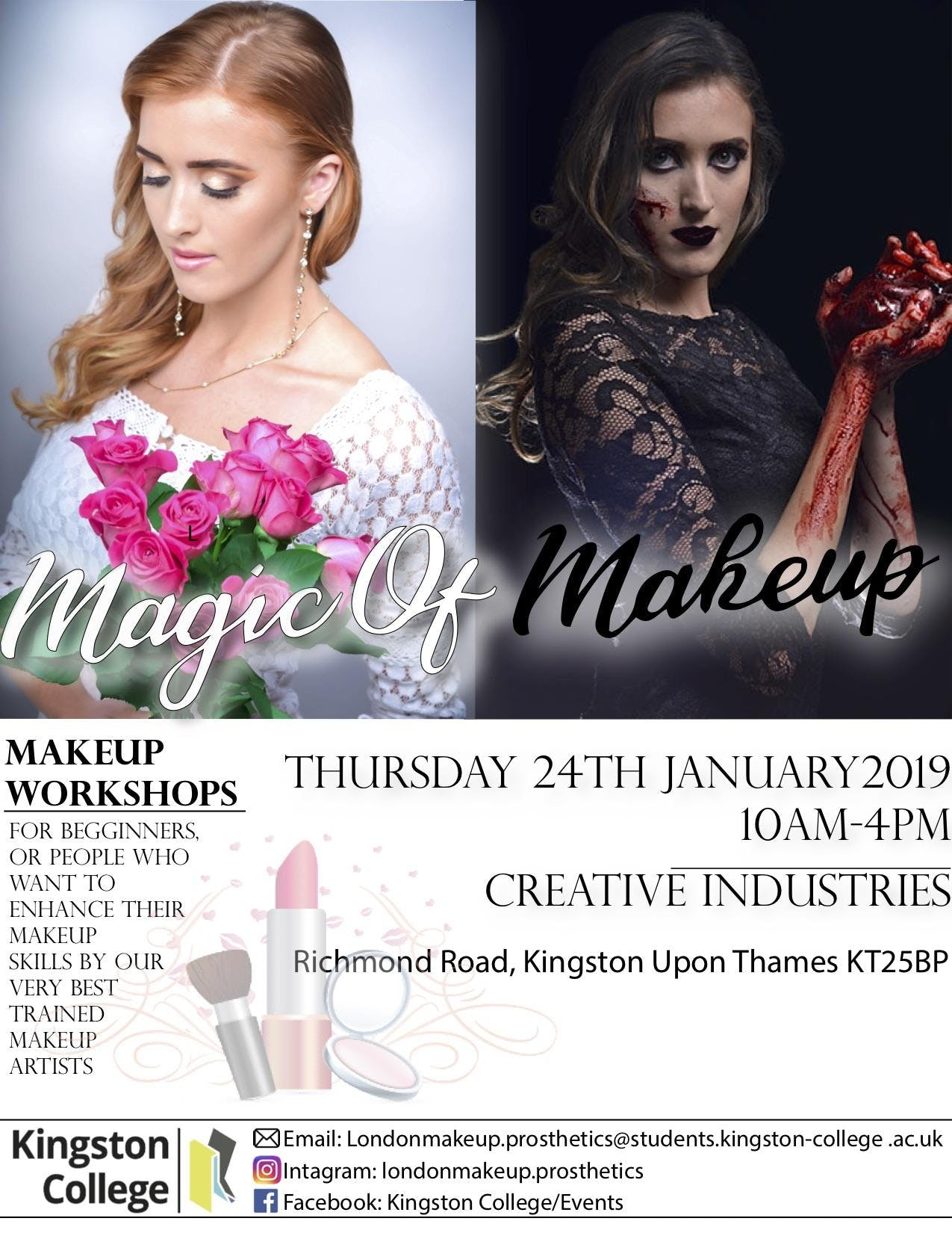 The Magic of Makeup- Special Effects (Group B)