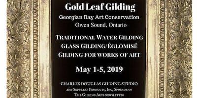 Traditional Water Gilding Class (Owen Sound, Ontario)