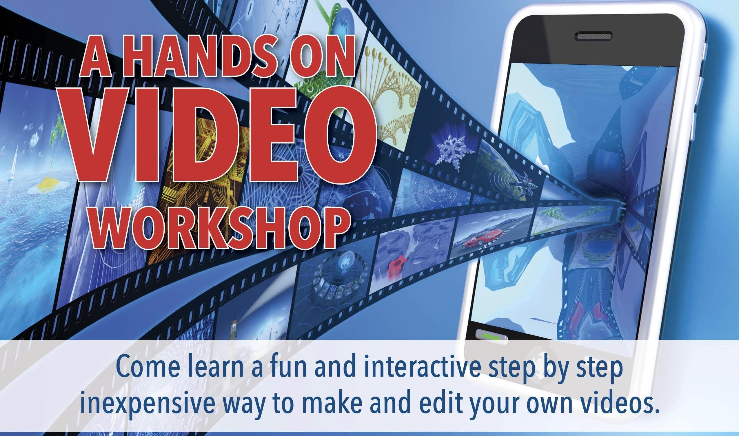 Another Not-a-Video and Branding Class. We're Having a Workshop!