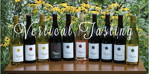 Eight Vintage Pinot Noir Vertical Tasting