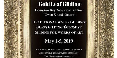 Glass Gilding Class: The Foundation for Verre Églomisé (Owen Sound, Ontario)